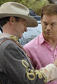 Michael C. Hall and Brett Rickaby in Dexter (2006)