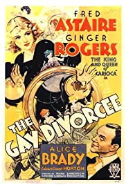 The Gay Divorcee (1934) Poster - Movie Forum, Cast, Reviews