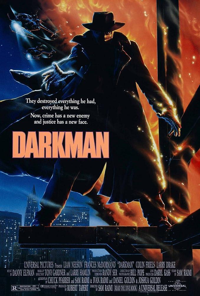 Sinopsis Film Darkman yang tayang di Big Movies GTV, Rabu (14/8/2019) pukul 23.30 WIB.