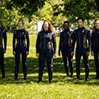 Ronnie Rowe, Emily Coutts, Patrick Kwok-Choon, Sara Mitich, Mary Wiseman, and Oyin Oladejo in People of Earth (2020)