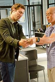 C.S. Lee and Josh Cooke in Dexter (2006)