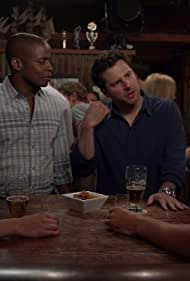 Dulé Hill, James Roday Rodriguez, and Chelsey Reist in Psych (2006)
