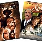 Charlton Heston, Gregory Peck, Jane Fonda, and Jimmy Smits in The Mountain Men (1980)