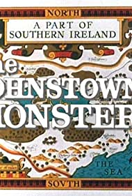 """Title slide from the 1971 Children's Film Foundation presentation """"The Johnstown Monster"""" - filmed entirely on the Shannon river's Lough Derg in the Republic of Ireland."""