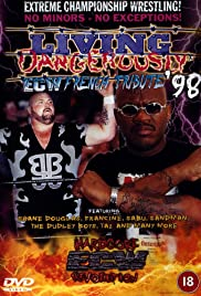 ECW Living Dangerously '98 Poster