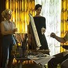 Amy Adams, Christoph Waltz, and Krysten Ritter in Big Eyes (2014)