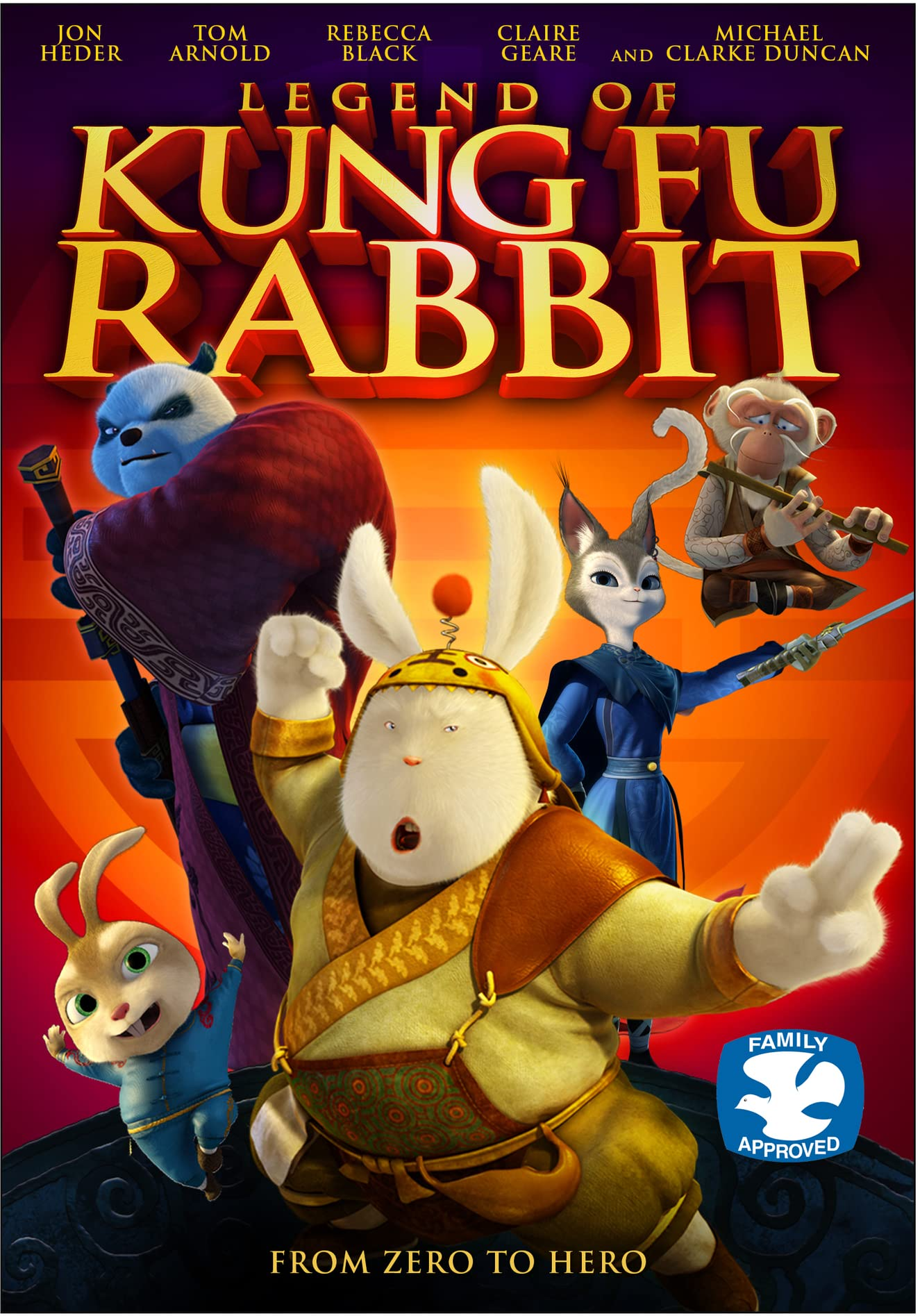 Legend of Kung Fu Rabbit song free download