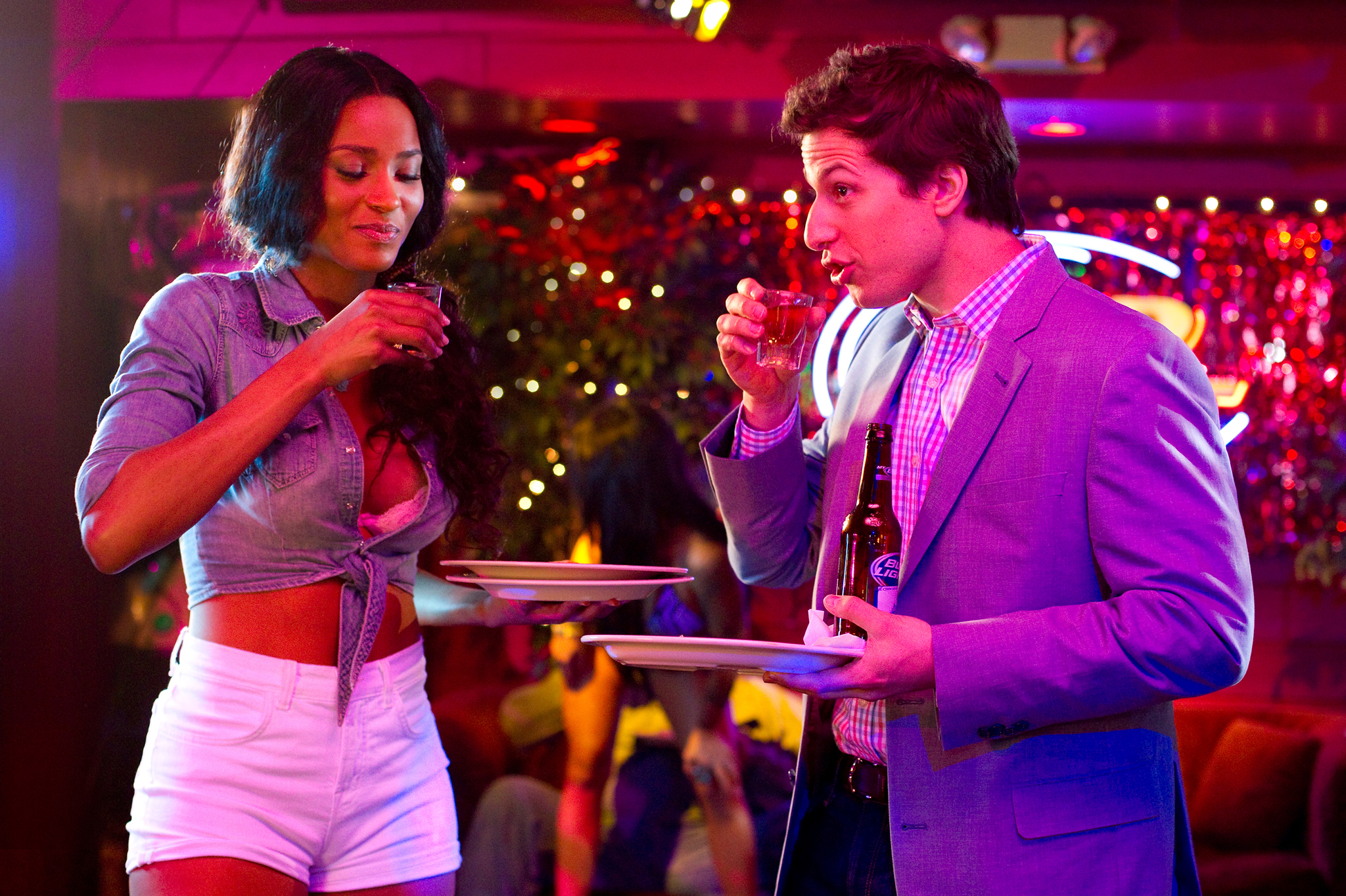 Andy Samberg and Ciara in That's My Boy (2012)