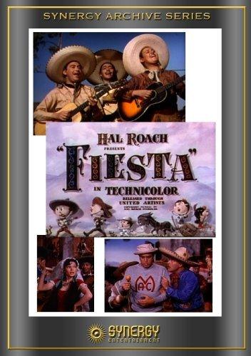 Armida, George Givot, Nick Moro, and Frank Yaconelli in Fiesta (1941)