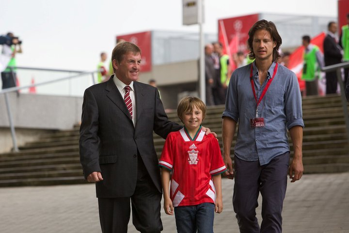 Kenny Dalglish, Kristian Kiehling, and Perry Eggleton in Will (2011)