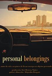 Personal Belongings Poster