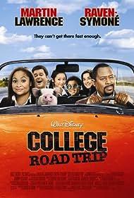 Martin Lawrence, Donny Osmond, Margo Harshman, Raven-Symoné, Brenda Song, and Eshaya Draper in College Road Trip (2008)