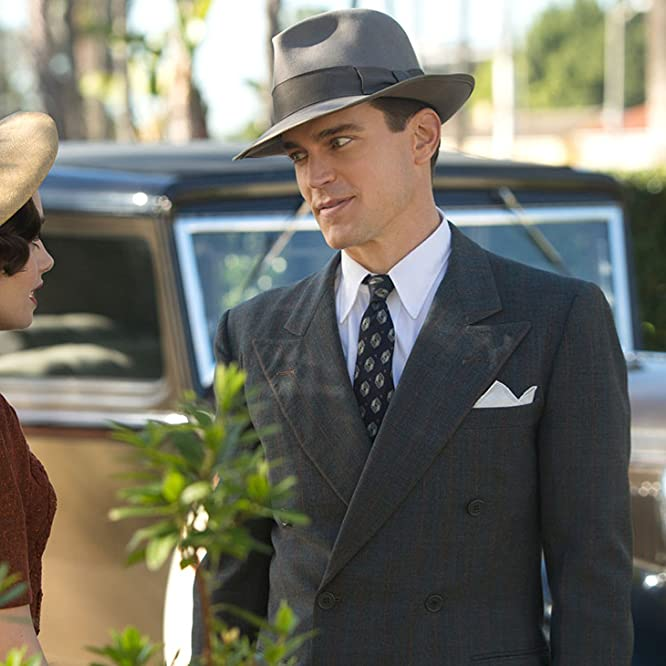 Matt Bomer and Lily Collins in The Last Tycoon (2016)