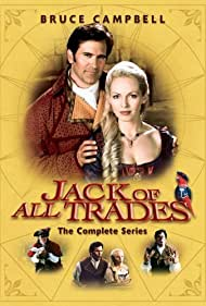 Bruce Campbell and Angela Marie Dotchin in Jack of All Trades (2000)