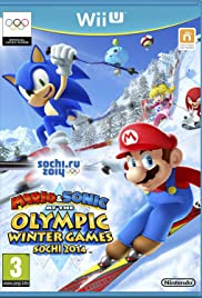 Mario & Sonic at the Sochi 2014 Olympic Winter Games Poster
