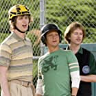 Rob Schneider, David Spade, and Jon Heder in The Benchwarmers (2006)