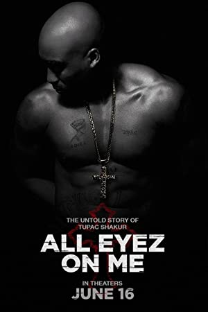 All Eyez on Me Cartel de la película