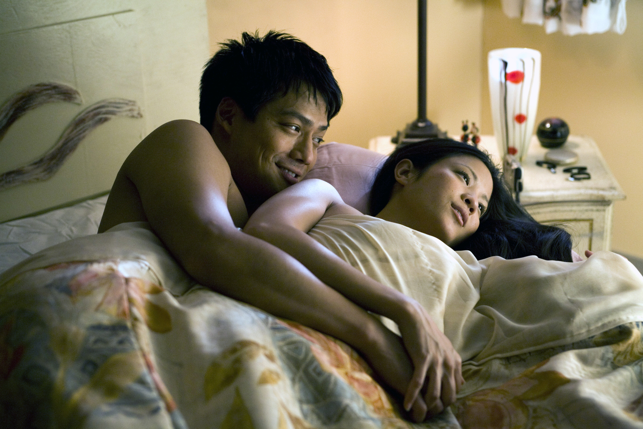 Karin Anna Cheung and Archie Kao in The People I've Slept With (2012)