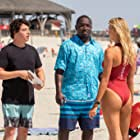 Hannibal Buress, Jon Bass, and Kelly Rohrbach in Baywatch (2017)