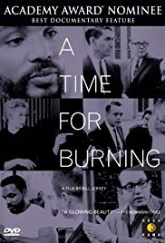 A Time for Burning Poster