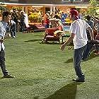 Adam Sandler and Taylor Lautner in Grown Ups 2 (2013)