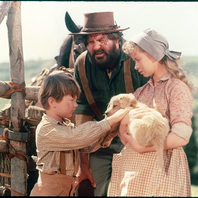 Kevin Corcoran, Beverly Washburn, and Jeff York in Old Yeller (1957)