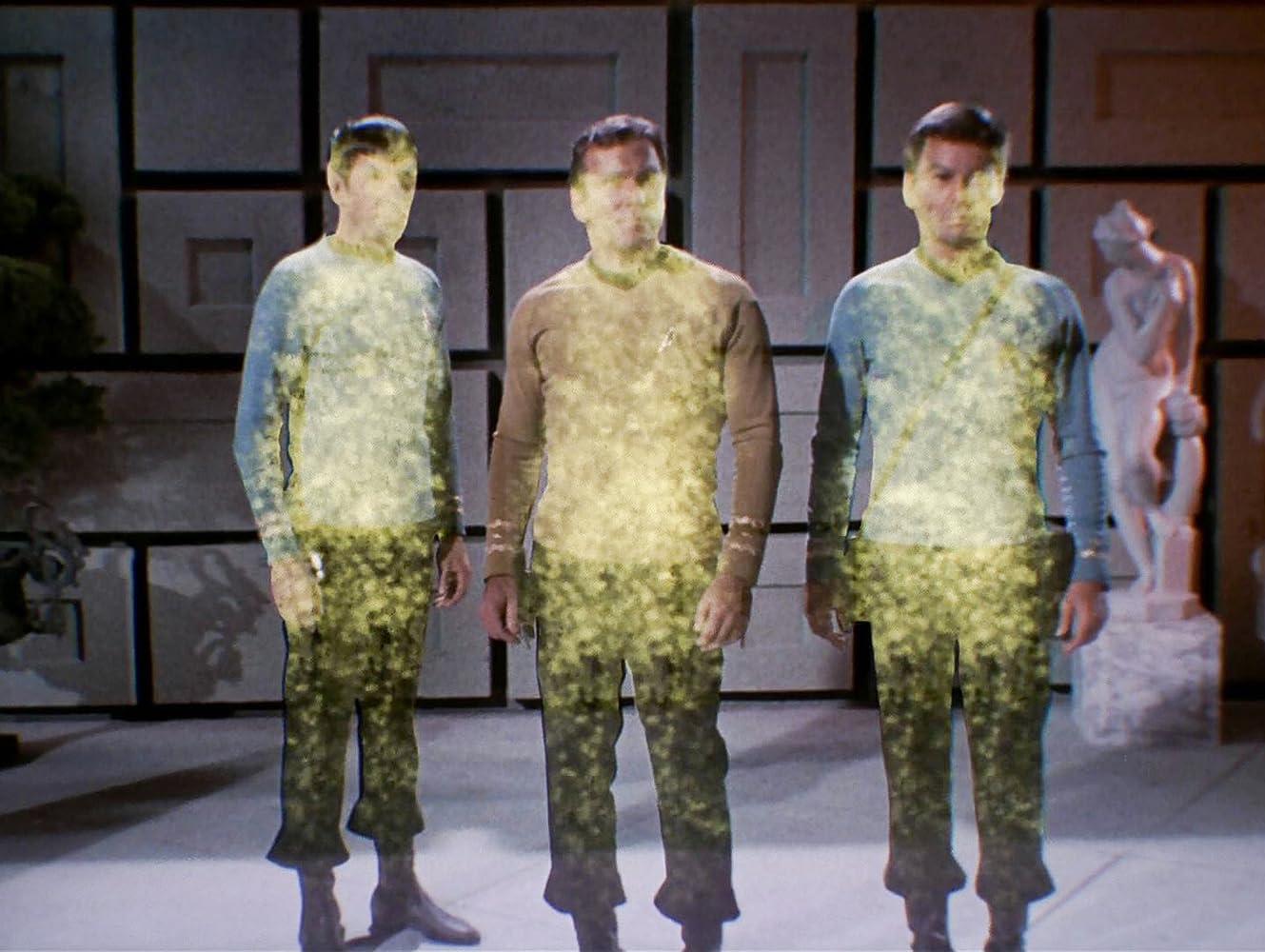 Leonard Nimoy William Shatner and DeForest Kelley in Star Trek 1966