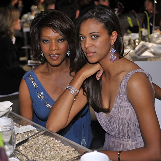 Alfre Woodard and Mavis Spencer