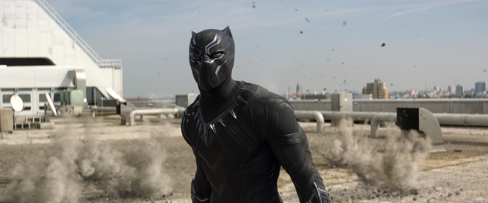 Chadwick Boseman in Captain America: Civil War (2016)