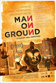 Man on Ground Poster
