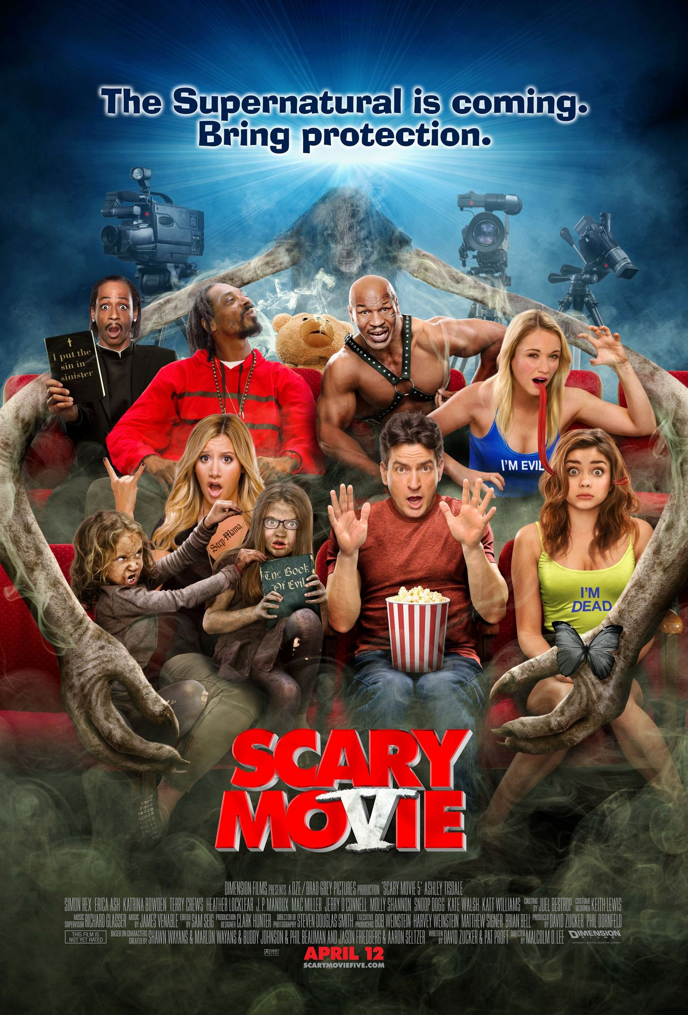 Image result for scary movie hd poster