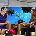 Nina Millin with Queen Latifah on The Queen Latifah Show