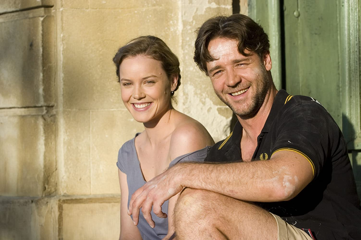 Russell Crowe and Abbie Cornish in A Good Year (2006)