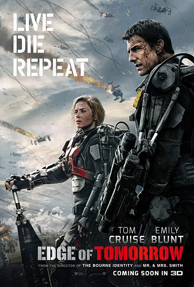 Edge of Tomorrow (2014) ORIGINAL Untouched DD 5.1CH 640Kbps Hindi Audio 520MB Download