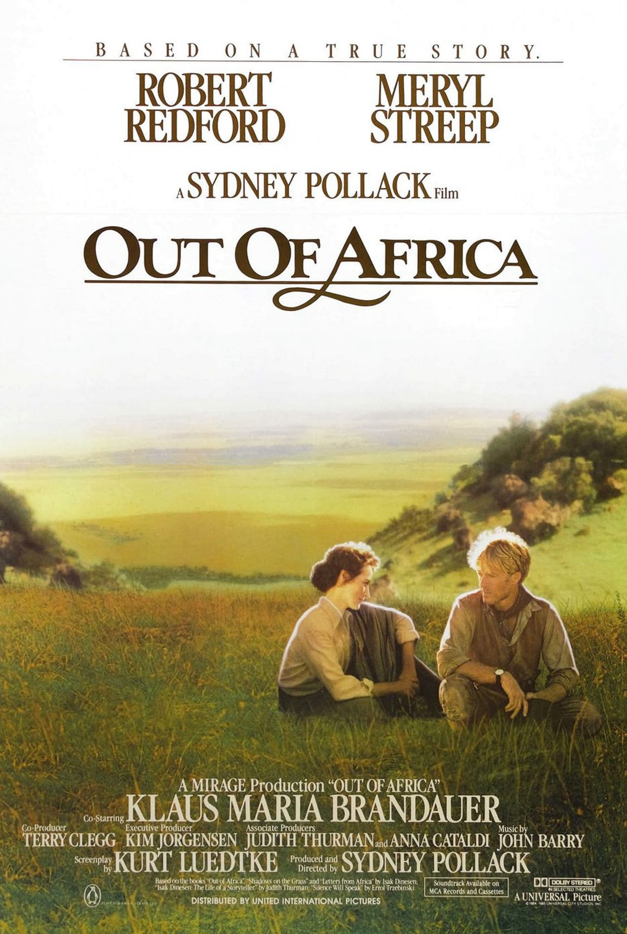 Out of Africa (1985) BluRay 480p, 720p & 1080p
