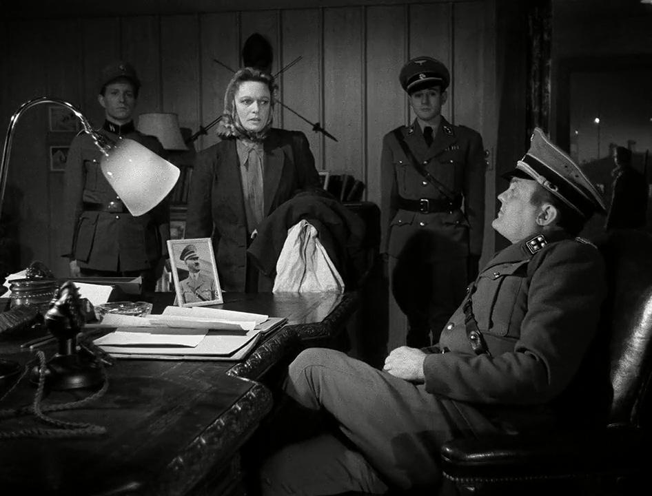 Anna Neagle and Alfred Schieske in Odette (1950)