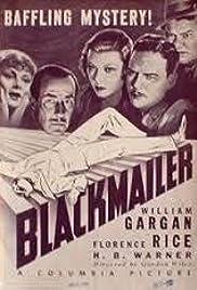 Blackmailer Poster