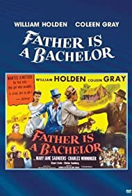 William Holden, Warren Farlow, Wayne A. Farlow, Billy Gray, Coleen Gray, Gary Gray, Mary Jane Saunders, Frederic Tozere, and Charles Winninger in Father Is a Bachelor (1950)