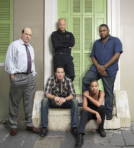 John Carroll Lynch, Anthony Anderson, Tawny Cypress, Cole Hauser, and Blake Shields in K-Ville (2007)
