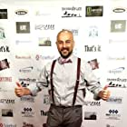 """Actor Serdar Kalsin on the red carpet at the premiere of """"Wake"""" at the 48 Hour Film Festival in Los Angeles."""