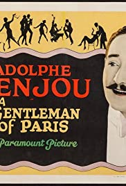 A Gentleman of Paris Poster