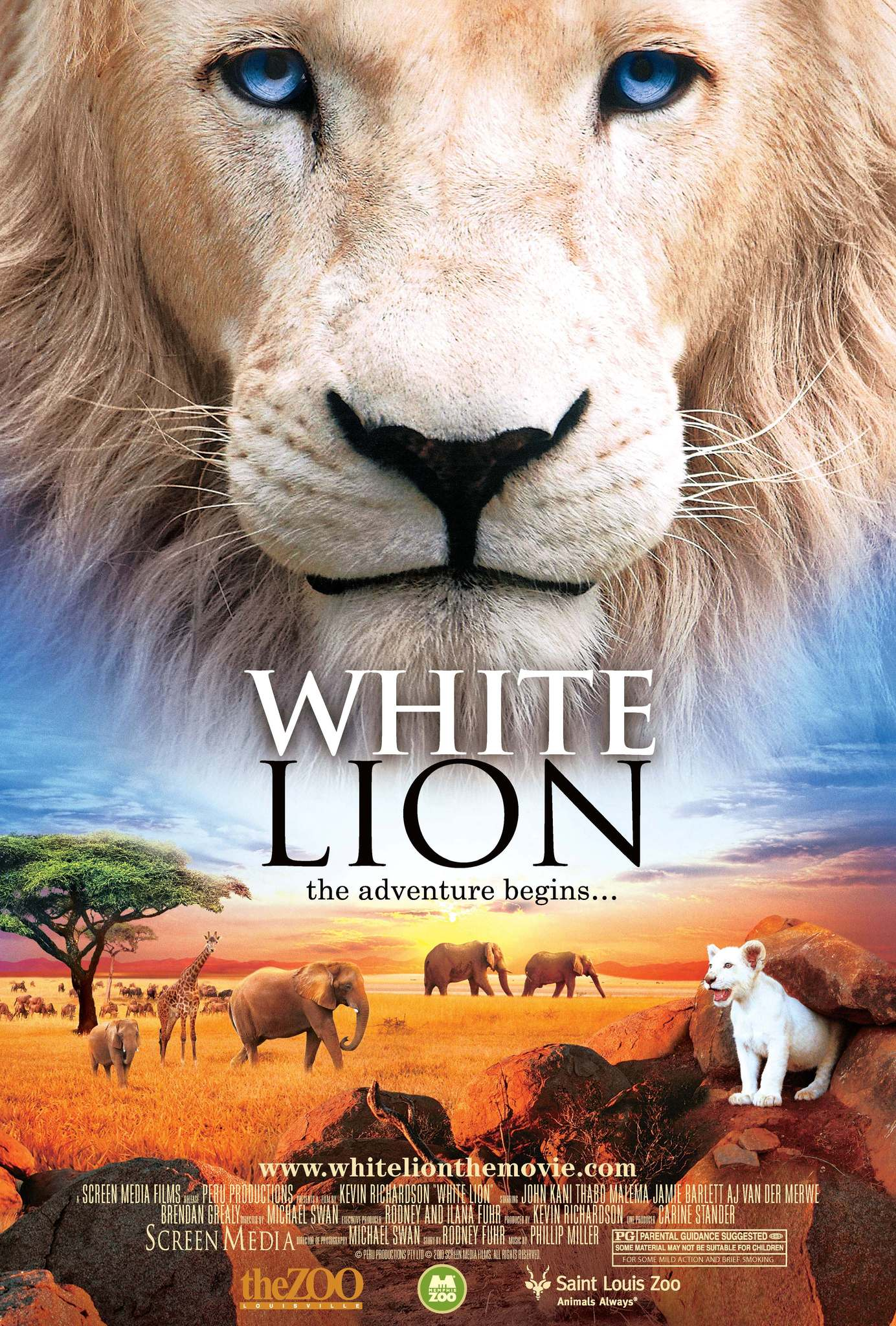 White Lion on FREECABLE TV