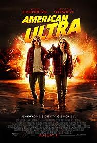 Jesse Eisenberg and Kristen Stewart in American Ultra (2015)