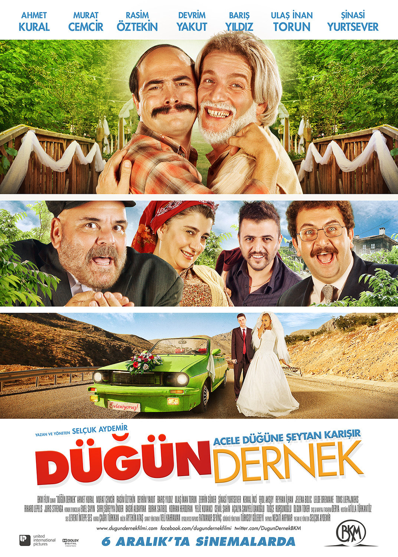 Rasim Öztekin, Sinasi Yurtsever, Murat Cemcir, Baris Yildiz, and Ahmet Kural in Dügün Dernek (2013)