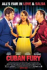 Nick Frost, Rashida Jones, and Chris O'Dowd in Cuban Fury (2014)