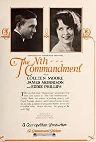 Colleen Moore and James Morrison in The Nth Commandment (1923)