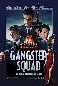 Sean Penn, Josh Brolin, Ryan Gosling, and Emma Stone in Gangster Squad (2013)
