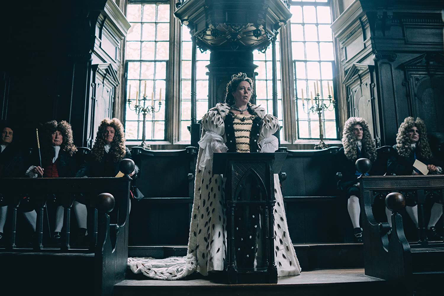 Olivia Colman in The Favourite (2018)