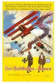 Von Richthofen and Brown (1971) Poster - Movie Forum, Cast, Reviews