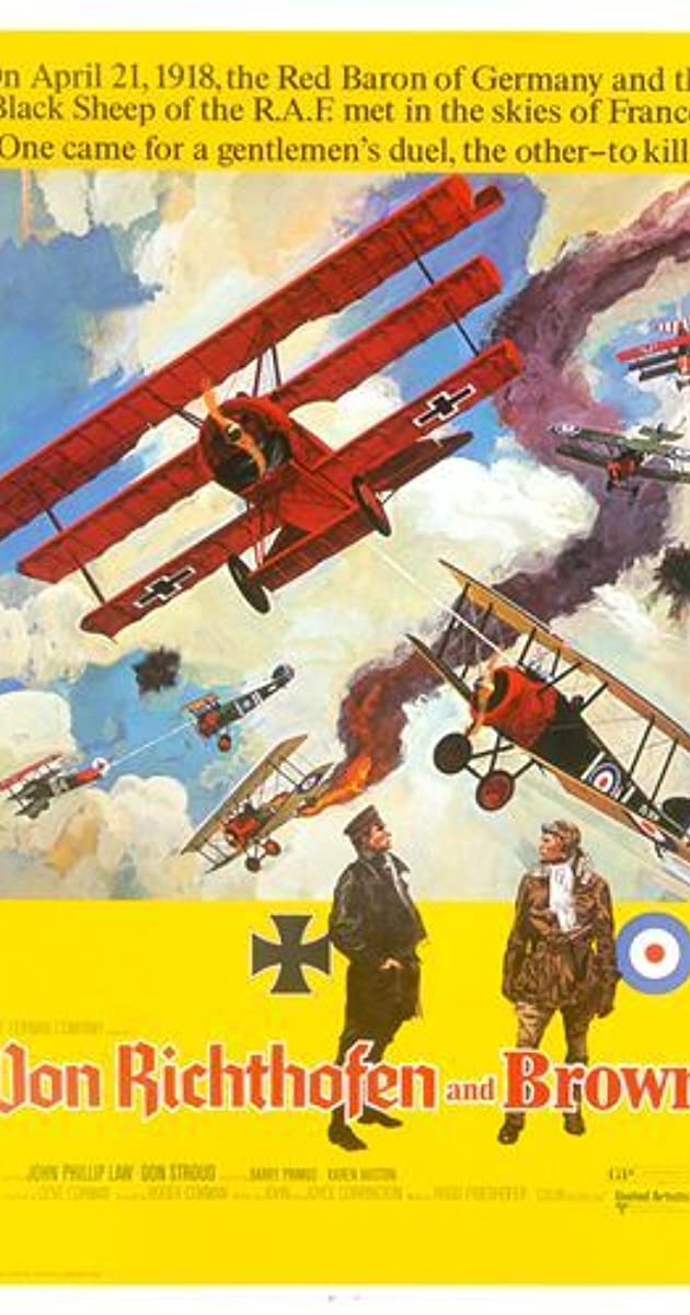 Subtitle of Von Richthofen and Brown